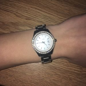 Fossil Diamond Stainless Steel Watch